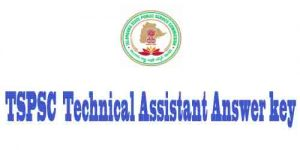 Technical Assistant Answer key