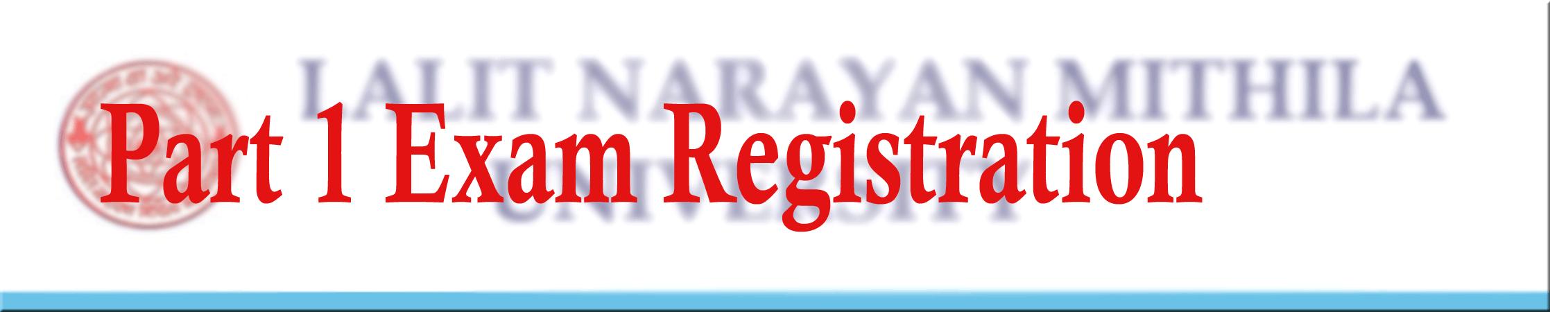 part 1 registration exam, exam part 1 lnmu registration, lnmu part 1 registration website, lnmu exam part 1 registration 2017, exam registration part 1, registration online lnmu website
