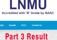 part 3 lnmu result , result of part 3, lnmu part 3 results, result of part 3, lnmu part 1 exam result, result of lnmu part 3, lnmu exam results