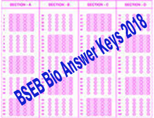 Bihar BSEB 2018 Bio answer key donwload