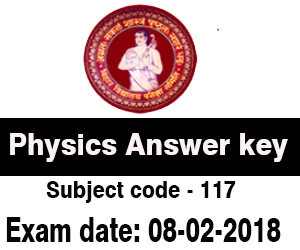 Bihar Board Physics 8th Feb 2018 Exam Answer Key All Sets | resultfor in