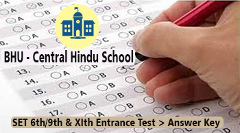 banaras central hindu school set answer key download 2018