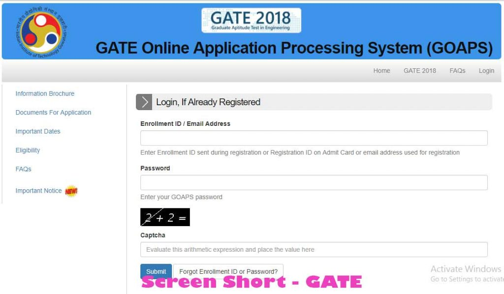 Bihar Boy in GATE 2018 Result gain 1st Rank. GATE 2018 First ranked Anup Bharti basically belongs to Nalanda distinct Bihar. On 16/03/2018 Friday Graduation Aptitude Test in Engineering Result announced. An aspirant who participated in gate 2018 Examination in the month of February can check GATE 2018 Result through below links and details.