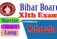 Bihar board 2018 Math Short & Long Question, BSEB 11th Math Objective Question , Bihar Board New Pattern 11th Exam Question, Bihar Board Class 11th Maths Question Paper 2018, BSEB 2018 Math Exam Question Details, Bihar board class 11th math exam question paper ,