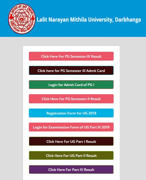 lnmu pg part 3 admit card