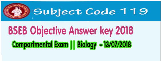 bihar board biology exam answer key 2018