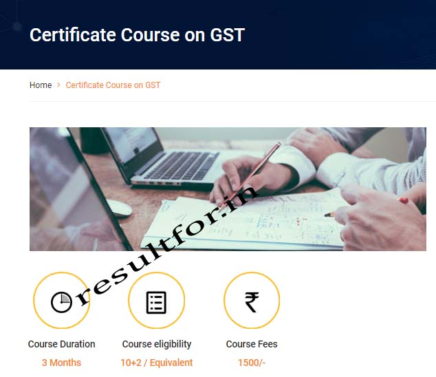 gst course by mithila university distance