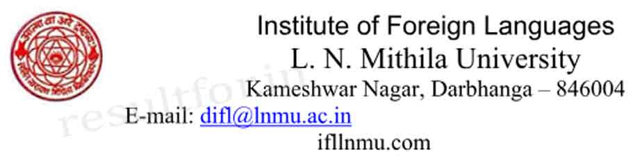 lnmu foreign language course, admission in foreign language course admission, LNMU Foreign language course admission