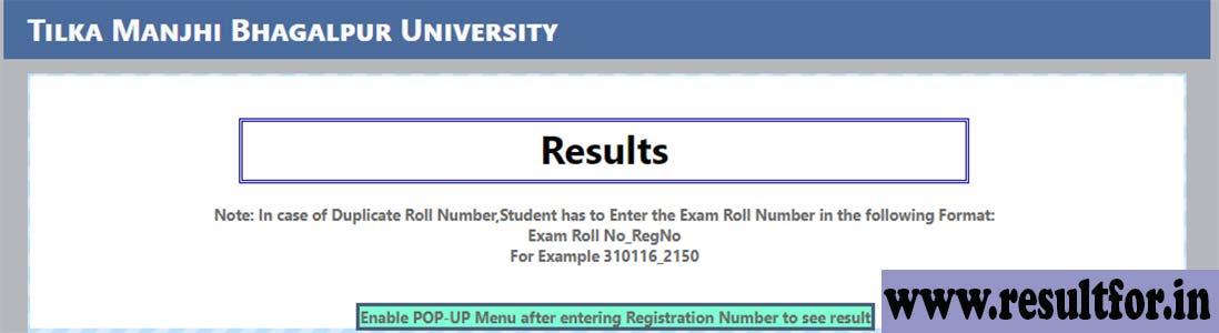 TMBU Part 1 Result 2018 - BA 1st Year Result Update , Manjhi Bhagalpur University Part 1 Result 2018, TMBU UG part 1 result, Bhagalpur university 1st-year result, TMBU Degree course result, TNMU First year exam result 2018, TMB University Result 2018, Ba part one result, BA Result 2018, BA / BCom Part 1 Result 2018,TMBU Part 1 Result Bhagalpur University ,
