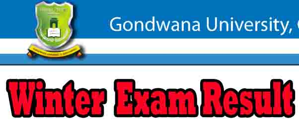 Gondwana University UG PG Winter Exam REsult