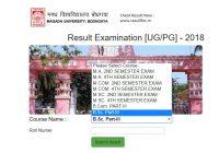 magadh university result, Magadh University result