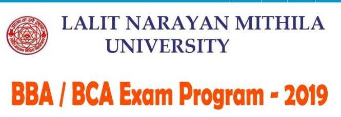 LNMU BBA BCA Exam Program 2019