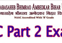 BRABU TDC PArt 2 Exam Program