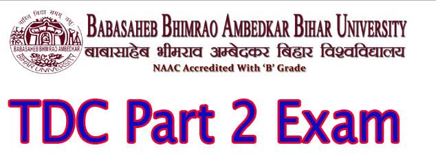 BRABU TDC PArt 2 Exam Program