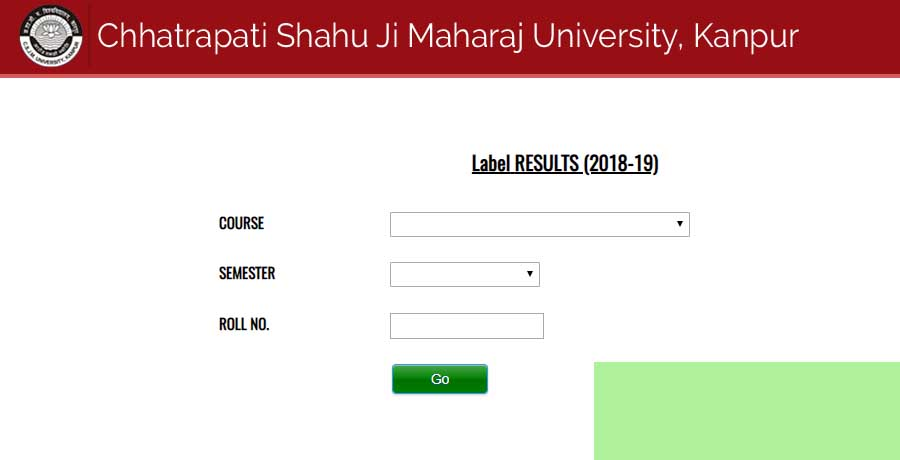 Kanpur university Odd Course Results