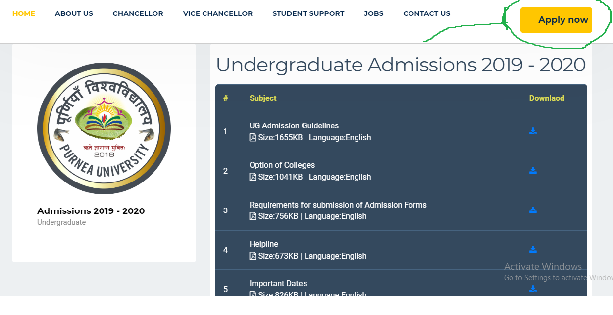 Purena University UG Admission 2019 Apply, Purena University Under Graduation Course Apply, How to Apply for Prenea University Graduation Admission Apply, List of College for Under Graduation Courses, Purnea University UG Admission Entrance Test Apply Fee, Purnea University Under Graduation Course Admission Apply Date 2019,