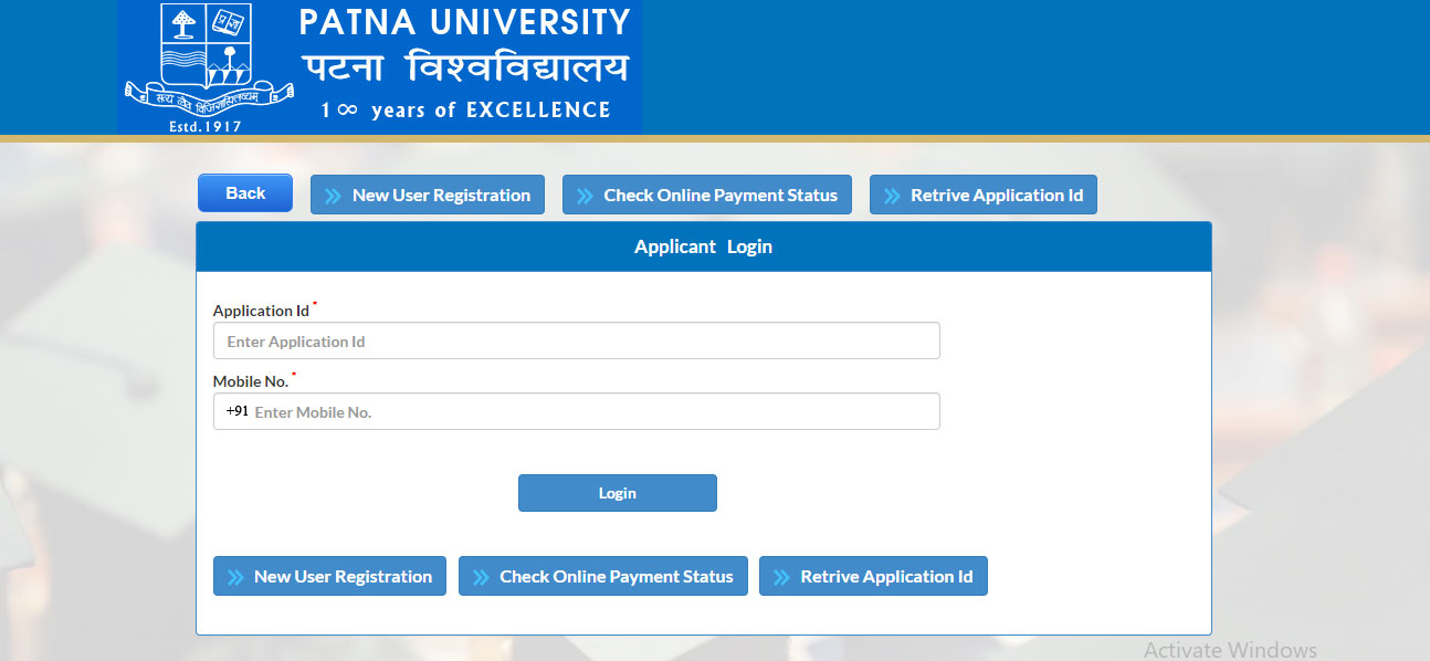 patna university admission apply 2019
