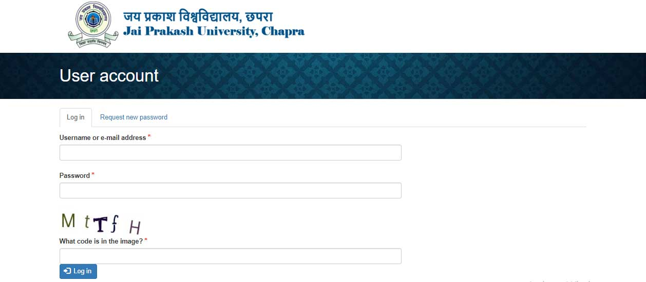 JPV Ba BSC Bcom Admission merit list college details check login