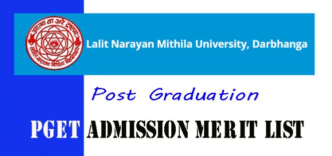 lnmu pget admission merit list 2019