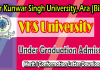 vksu ug admission confomration letter download