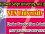 vksu ug admission confomration letter download