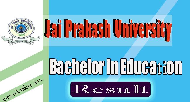 JPU B.ed Result Ist Year, JPU Bachelor in Education 1st Year Result, bed result, jpvbed result ist year,