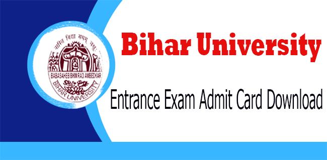 Ambedkar Bihar University Entrance Test Admit Card PHD, BRABU Entrance Test Admit Card for PhD Admission, BRABU PHD Admission Entrance Test Admit Card Download, How to Download BRABU PHD Entrance Test Admit Card,