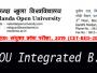 Bihar NOU Integrated B.Ed CET