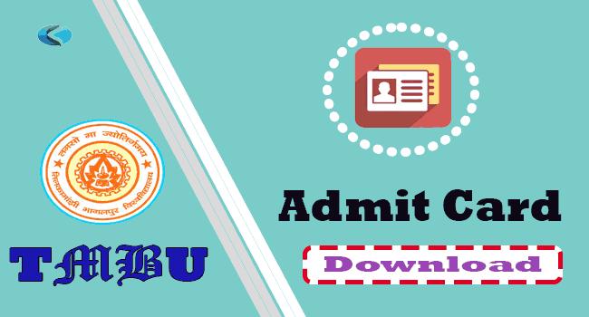 TMBU Part 1st 2nd 3rd Admit Card, How to download TMBU Degree Exam Admit Card, TMBU BA BSc BCom Hall Ticket PDF, TM Bhagalpur University Degree Admit Card,