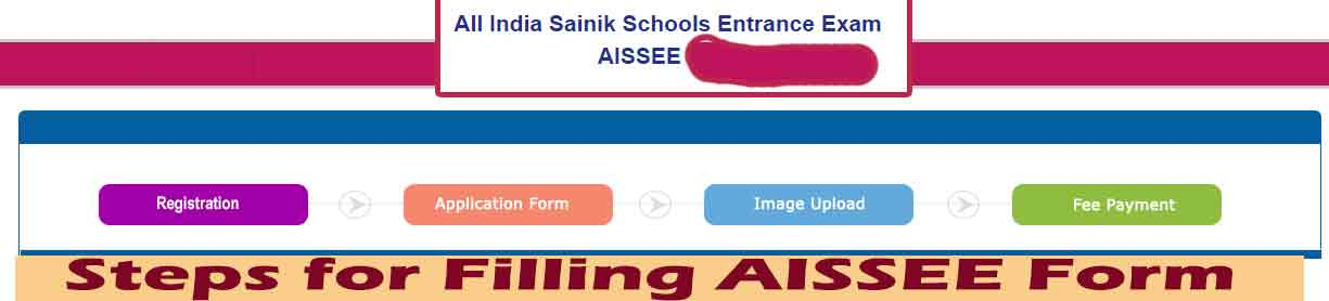AISSEE Form Filling Process