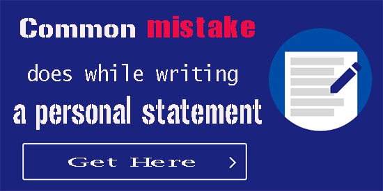 Common mistake ESL students does in a personal statement,