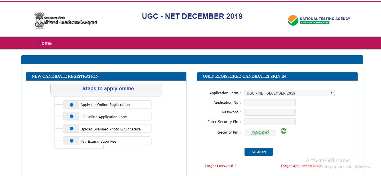 UGC NET Admit Card available to download