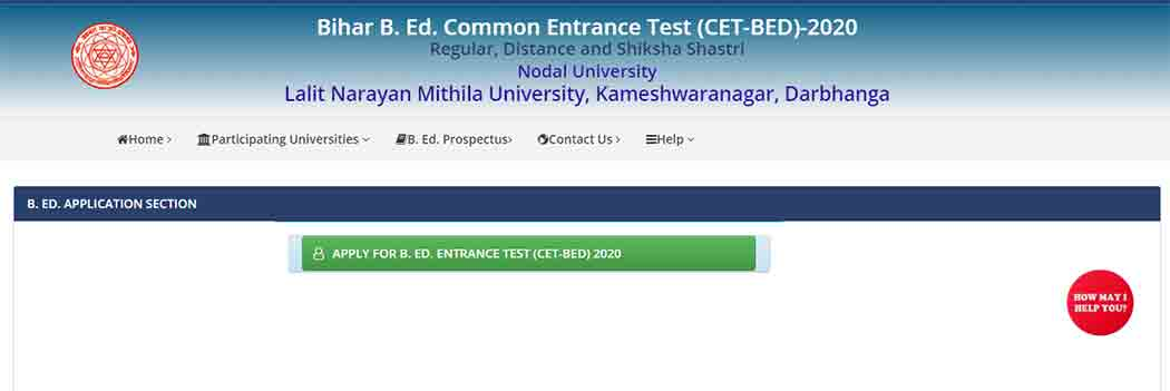 lnmu bed admission apply