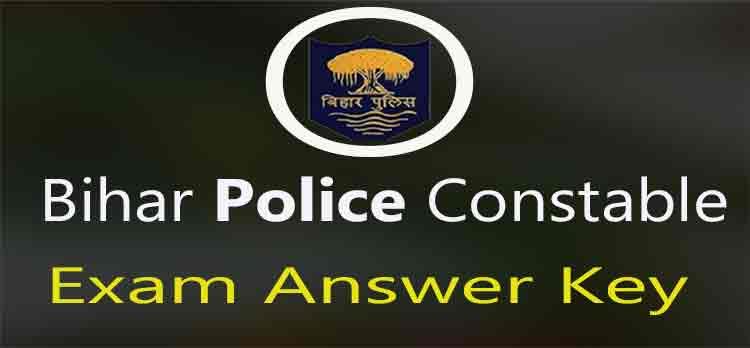 bihar police constable exam answer key download