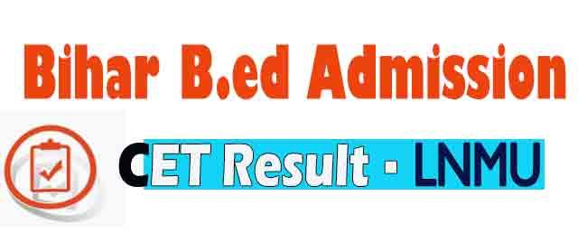 bed cet result