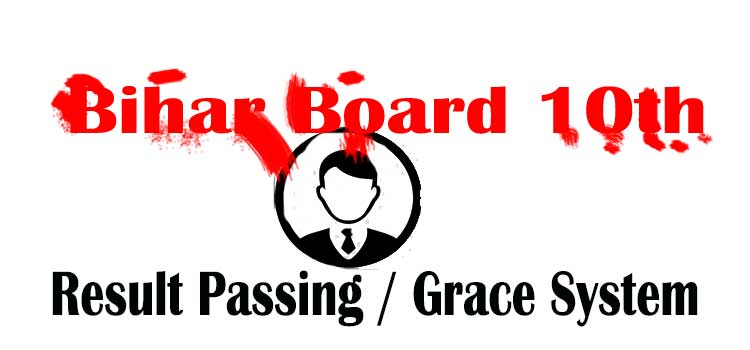 bihar board 10th grace marks system