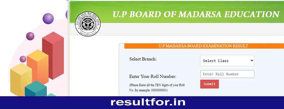 up madrasa board result
