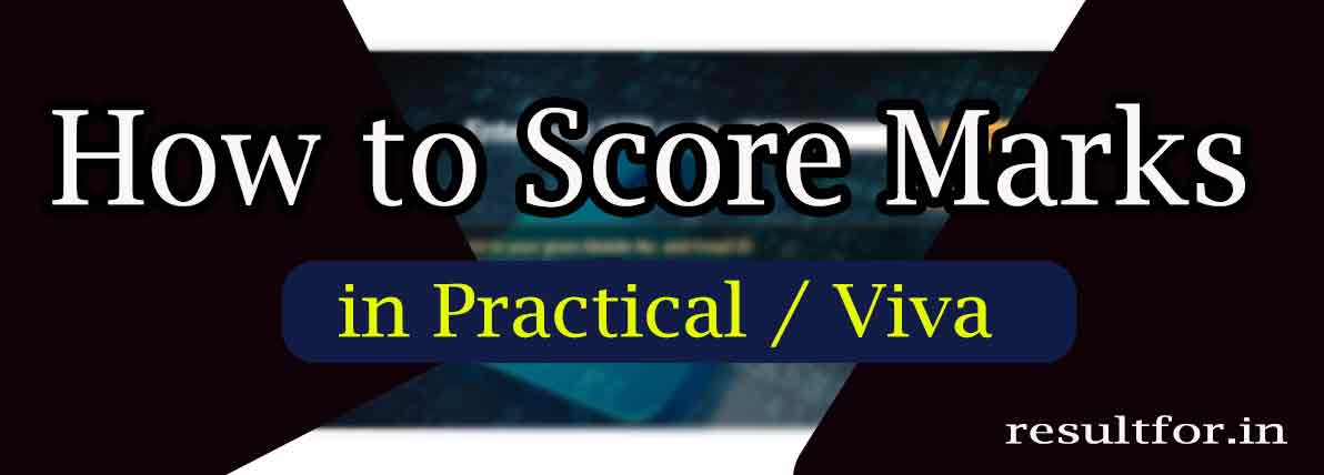 how to score marks in practical exam test