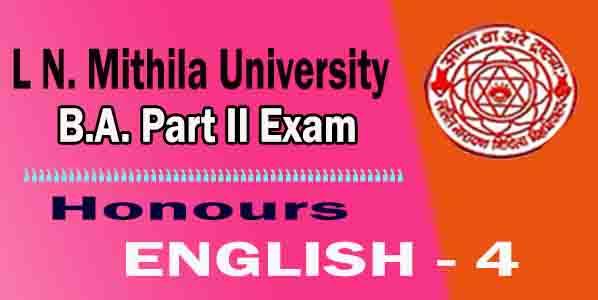 LNMU English 4 Questuibs