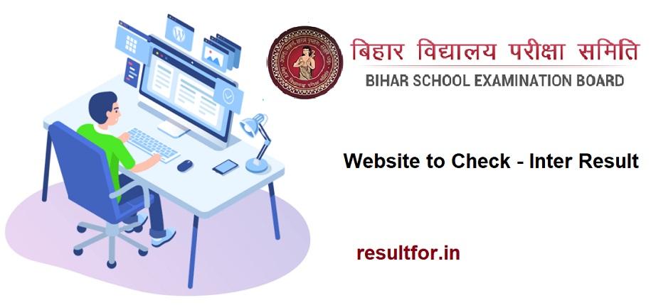 Bihar Board Inter Result 2021 Website & direct link