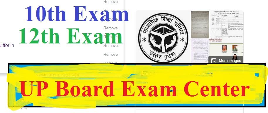 UP Board Exam Center List